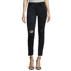 Decree® Destructed Skinny Jeans
