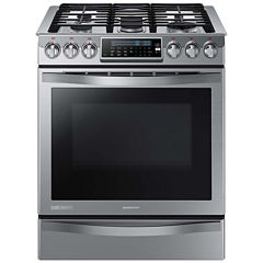 Samsung 5.8 Cu. Ft. Chef Collection Slide-In Gas Convection Range
