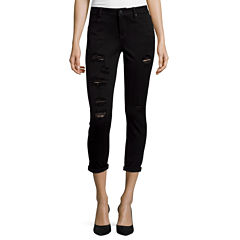 a.n.a® Roll-Cuff Skinny Ankle Jeans