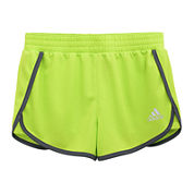 adidas® Contrast-Trim Knit Shorts - Girls 7-16