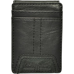 Levi's® Leather Front Pocket Wallet