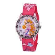 Disney Rapunzel Easy-Read Plastic Strap Watch