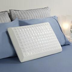 Comfort Revolution Cooling Cube Gel Memory Foam Pillow