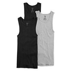 Hanes® Ultimate 3-pk. ComfortFlex A-Shirts - Boys 6-20
