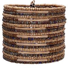 Mixit Clr 0717 Brown Womens Cuff Bracelet