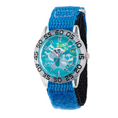 Disney Collection Lion Guard Boys Blue Plastic Nylon Strap Watch
