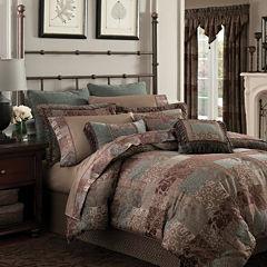 Croscill Classics® Catalina Brown 4-pc. Chenille Comforter Set & Accessories