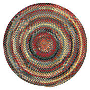 Capel Eaton Reversible Braided Round Rug