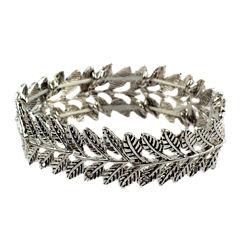 Arizona Womens White Stretch Bracelet