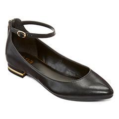 a.n.a® Uri Ankle Strap Flats