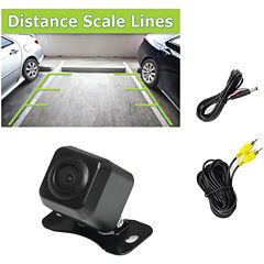 Pyle PLCM37FRV Backup Parking/Reverse Camera withDistance-Scale Line