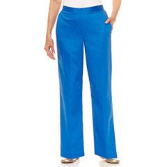 Alfred Dunner Corsica Woven Pull-On Pants-Petites