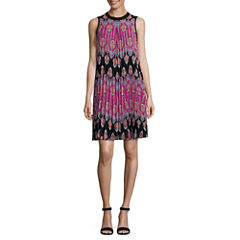 Nicole By Nicole Miller Sleeveless A-Line Dress