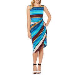 Rafaella Sleeveless Wrap Dress