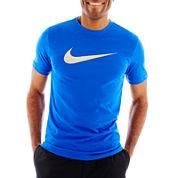 Nike® NA Swoosh Dri-FIT Cotton Tee