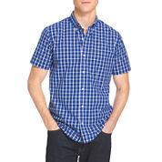 IZOD® Short-Sleeve Poplin Woven Shirt