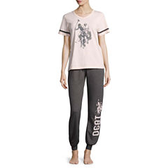 Us Polo Assn. Pant Pajama Set-Juniors