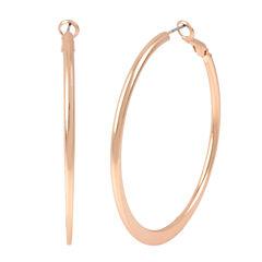 Bold Elements Hoop Earrings