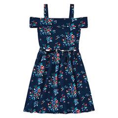 Knit Works Sleeveless A-Line Dress - Big Kid Girls