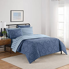 Beauty Rest Simmons Lyon Complete Bedding Set with Sheets