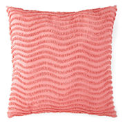 JCPenney Home™ Cotton Classics Chenille Waves Euro Pillow