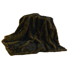 HiEnd Accent Mink Faux Fur Throw