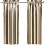 Sonata Rod-Pocket Lined Curtain Panel