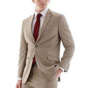 Adolfo® Tan Suit Jacket - Slim