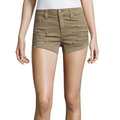 Almost Famous Denim Shorts-Juniors