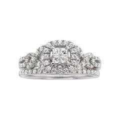 I Said Yes!™ 1/2 CT. T.W. Certified Diamond Bridal Ring Set
