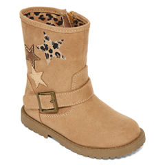 Okie Dokie® Harte Girls Fashion Boots - Toddler