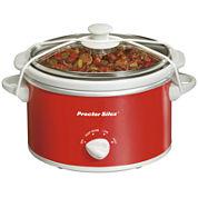 Proctor-Silex® 1.5-Quart Portable Oval Slow Cooker