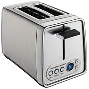 Hamilton Beach® Modern Chrome 2-Slice Toaster with Digital Shade Selector Display