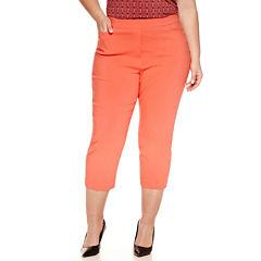 Plus Size Orange Capris & Crops for Women - JCPenney