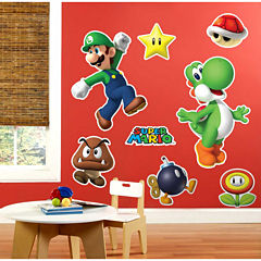 Super Mario Party Giant Wall Decals