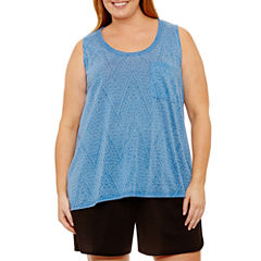 Made For Life Knit Tank Top-Plus