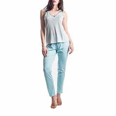 Maidenform Jersey Pant Pajama Set