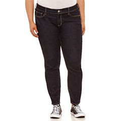 Arizona Super Skinny Jeans-Juniors Plus