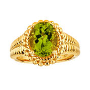 LIMITED QUANTITIES Peridot Sterling Silver Ring