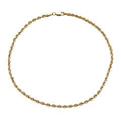 14K Yellow Gold Anklet Bracelet