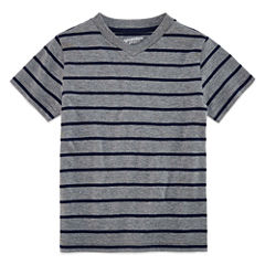 Arizona Boys Short-Sleeve Stripe T-Shirt - Preschool 4-7