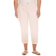 Plus Size Pink Capris & Crops for Women - JCPenney