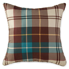 Home Expressions™ Decklan Plaid Square Decorative Pillow