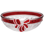 Mikasa® Celebrations Red Ribbon Hostess Bowl