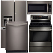 LG French-Door 4-pc. Kitchen Package