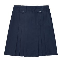 French Toast® Pleated Tab Skirt - Girls 7-20 and Plus