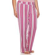 Ambrielle Knit Pajama Pants-Plus