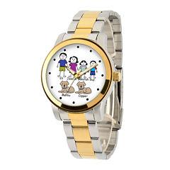 Unisex Two Tone Bracelet Watch-41478-Tt
