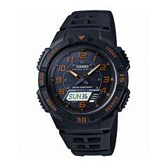 Casio® Mens Analog-Digital Solar Watch AQ-S800W-1B2V