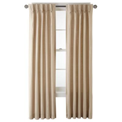 royal velvet supreme lined curtain panel